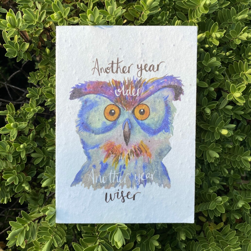 Another Year Wiser Plantable Card
