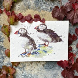 I Puffin Love You Plantable Card