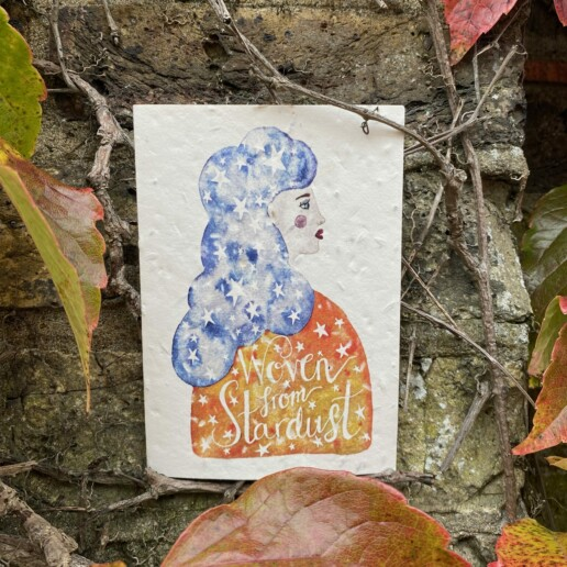 Woven By Stardust Plantable Card