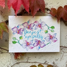 Deepest Sympathy Plantable Card