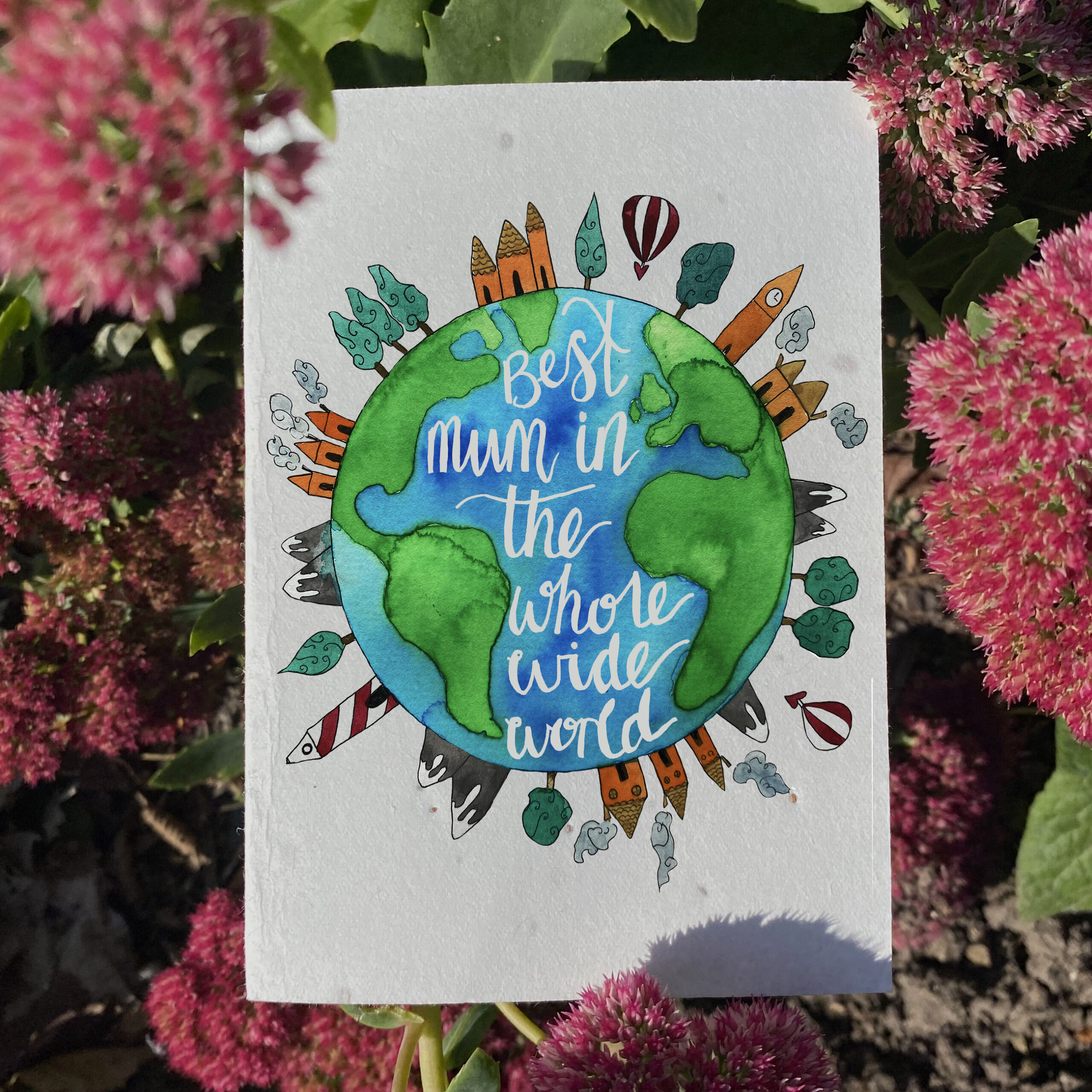 Plantable Mother's Day Card
