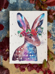 Plantable Easter Card